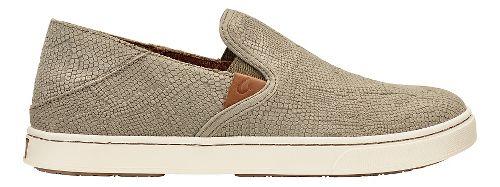 Womens Olukai Pehuea Leather Sandals Shoe - Clay Honu/Clay 7.5