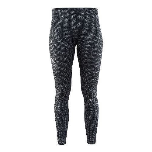 Womens Craft Mind Reflective Tights & Leggings Pants - Black XL