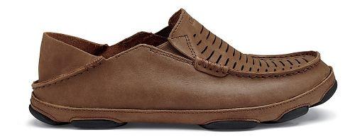 Mens Olukai  Moloa Kohona II Sandals Shoe - Rum/Rum 14
