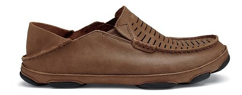 Mens Olukai  Moloa Kohona II Sandals Shoe - Rum/Rum 8