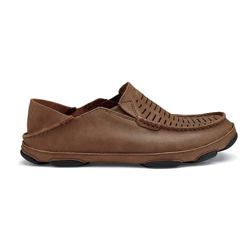Mens Olukai  Moloa Kohona II Sandals Shoe - Rum/Rum 12