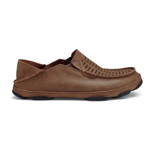 Mens Olukai  Moloa Kohona II Sandals Shoe - Rum/Rum 9.5
