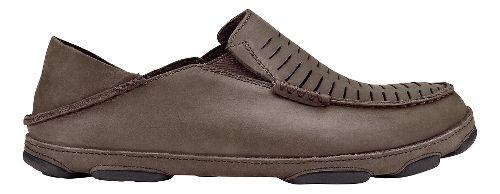 Mens Olukai  Moloa Kohona II Sandals Shoe - Dark Wood/Dark Wood 11.5