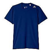 Mens Adidas Techfit Base-Layer Fitted Tee Short Sleeve Technical Tops