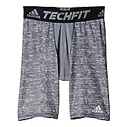 Mens Adidas Techfit Tight Base-Layer Compression & Fitted Shorts