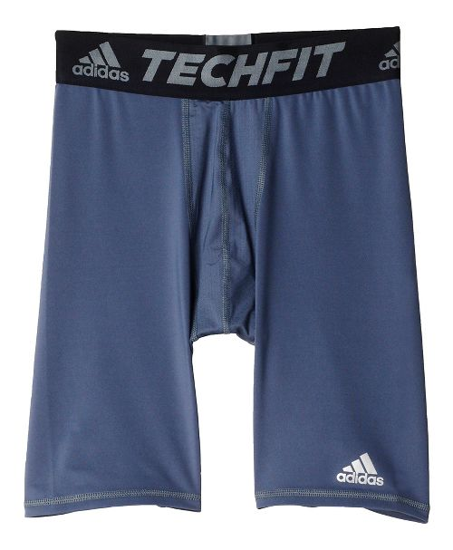 Mens adidas Techfit Short Tight Base-Layer Compression & Fitted Shorts - Onyx M