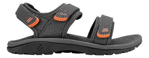 OluKai Pahu Sandals Shoe - Charcoal/Charcoal 13C/1Y