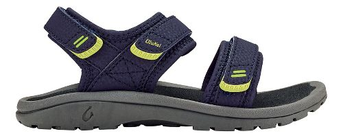 OluKai Pahu Sandals Shoe - Trench Blue/Dark Shadow 11C/12C