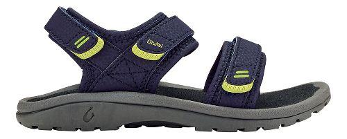 OluKai Pahu Sandals Shoe - Trench Blue/Dark Shadow 9C/10C