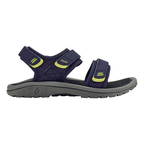 OluKai Pahu Sandals Shoe - Trench Blue/Dark Shadow 2Y/3Y