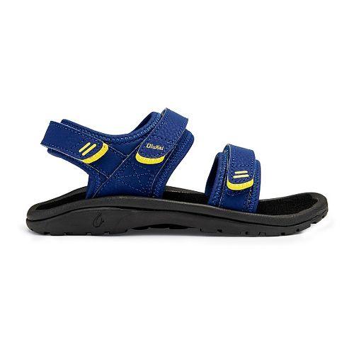 OluKai Pahu Sandals Shoe - Sunset Blue/Black 9C/10C