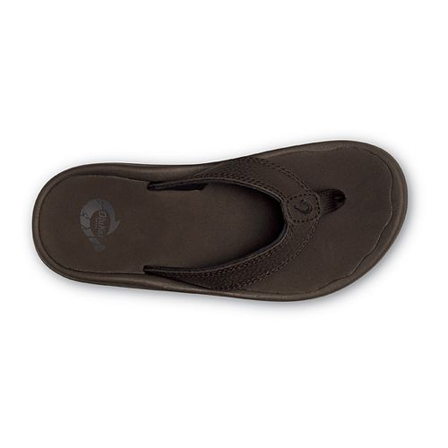Kids OluKai Ohana Sandals Shoe - Dark Java/Navy 9C/10C