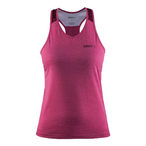 Womens Craft Pulse Singlet Sleeveless & Tank Tops Technical Tops - Smoothie M