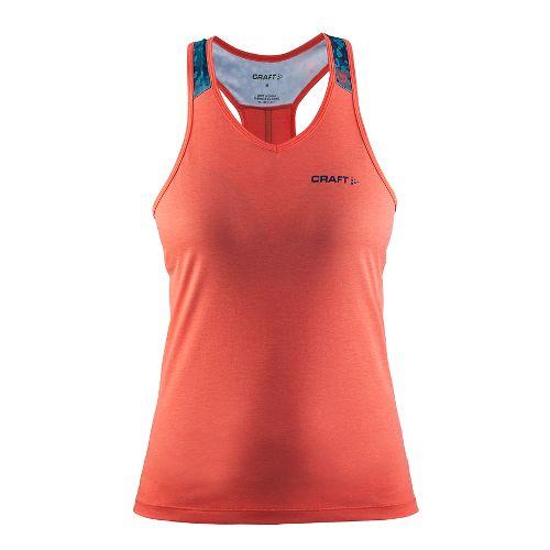 Womens Craft Pulse Singlet Sleeveless & Tank Tops Technical Tops - Calypso XL