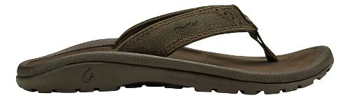 Olukai  Nui Sandals Shoe - Seal Brown/Dark Java 11C/12C