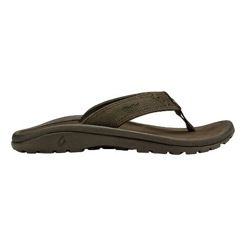 Olukai  Nui Sandals Shoe - Seal Brown/Dark Java 2Y/3Y