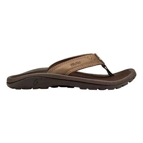 Olukai  Nui Sandals Shoe - Tan/Dark Java 9C/10C