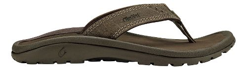 Olukai  Nui Sandals Shoe - Clay/Dark Java 13C/1Y