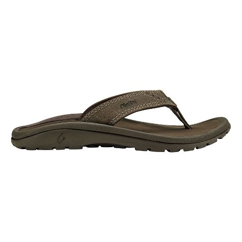 Olukai  Nui Sandals Shoe - Clay/Dark Java 9C/10C