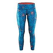 Womens Craft Pulse Tights & Leggings Pants - Blur Deep XS