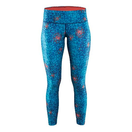 Womens Craft Pulse Tights & Leggings Pants - Blur Deep S