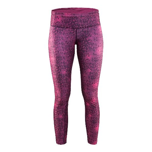 Womens Craft Pulse Tights & Leggings Pants - Blur Space L
