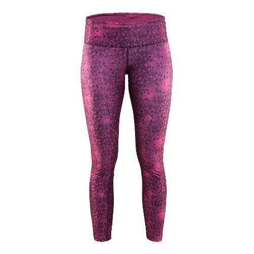 Womens Craft Pulse Tights & Leggings Pants - Blur Space XL