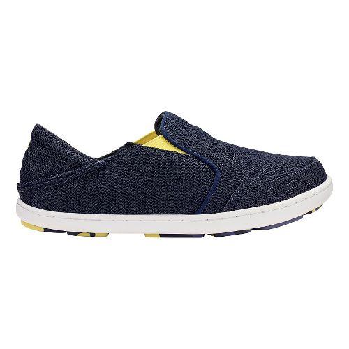 Olukai Nohea Mesh Boys Sandals Shoe - Trench Blue/Bright 5Y