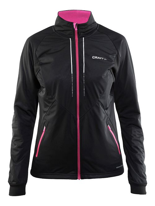 Womens Craft Storm 2.0 Cold Weather Jackets - Black/Smoothie L