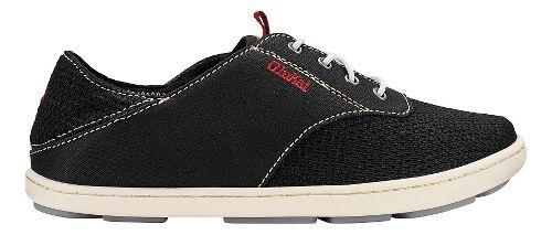 Olukai Nohea Moku Sandals Shoe - Black/Black 9C