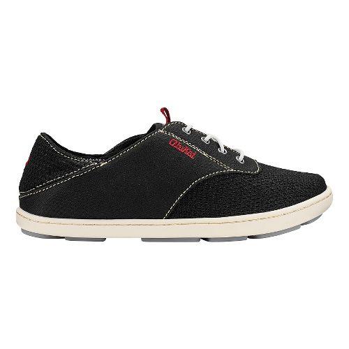 Olukai Nohea Moku Sandals Shoe - Black/Black 13C