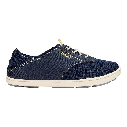 Kids OluKai Nohea Moku Casual Shoe - Trench Blue 10C