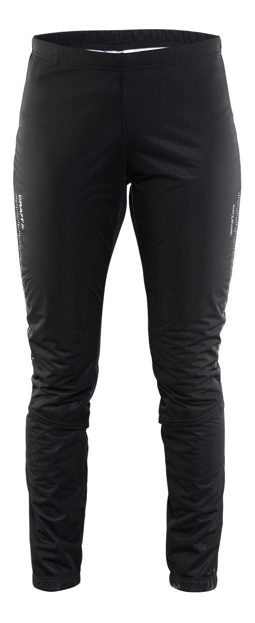 Womens Craft Storm 2.0 Tights & Leggings Pants - Geo Black L