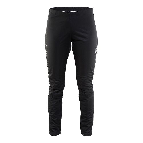 Womens Craft Storm 2.0 Tights & Leggings Pants - Geo Black L
