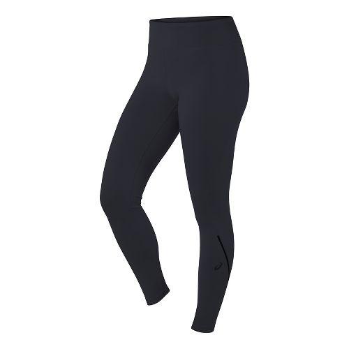 Womens ASICS Long Tights & Leggings Pants - Black XS