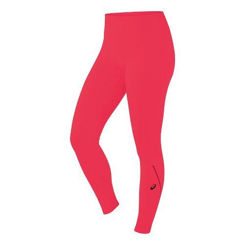 Womens ASICS Long Tights & Leggings Pants - Diva Pink XL