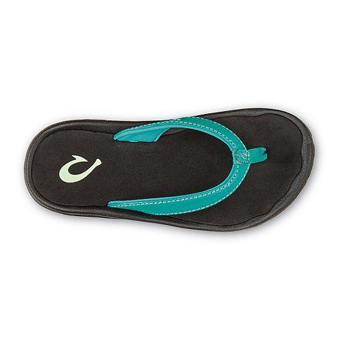 Olukai Kulapa Kai Sandals Shoe - Marine/Black 2Y/3Y