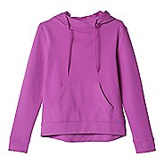 Womens Adidas 24/7/365 Pullover Half-Zips & Hoodies Technical Tops