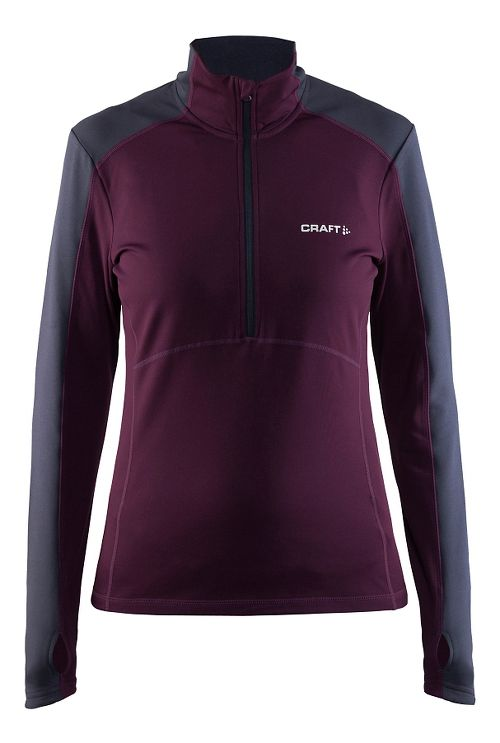 Womens Craft Thermal Half-Zips & Hoodies Technical Tops - Space XL