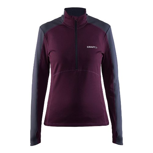 Womens Craft Thermal Half-Zips & Hoodies Technical Tops - Space L