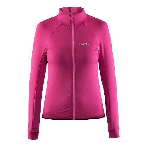 Womens Craft Velo Jersey Long Sleeve Technical Tops - Smoothie XL