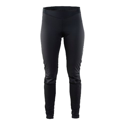 Womens Craft Thermal Wind Tights & Leggings Pants - Black M