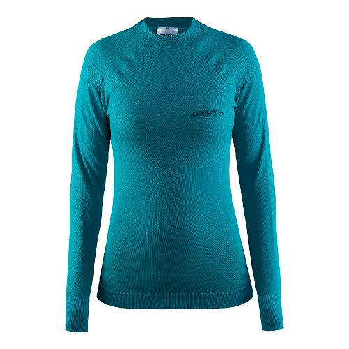 Womens Craft Warm Crewneck Long Sleeve Technical Tops - Gale M