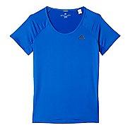 Womens Adidas Basic Performance Tee Short Sleeve Technical Tops