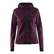 Womens Craft Warm Half-Zips & Hoodies Technical Tops