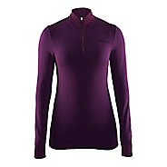 Womens Craft Wool Comfort Half-Zips & Hoodies Technical Tops - Space XS