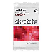 Skratch Labs Fruit Drops Energy Chews 10 pack Nutrition