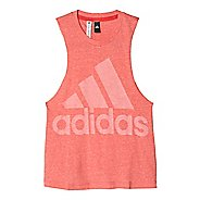 Womens Adidas Logo Tee Sleeveless & Tank Tops Technical Tops