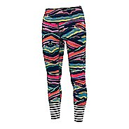 Womens Adidas Performer High-Rise Printed Tights & Leggings Pants