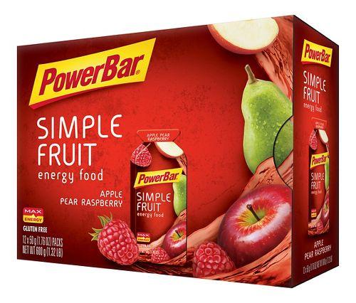 Powerbar Simple Fruit Energy Food 12 pack Gels - null